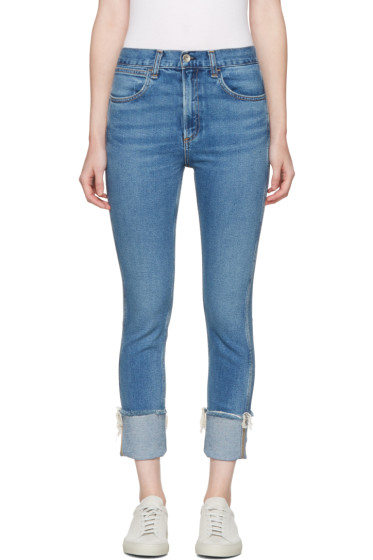 Rag & Bone - Blue Lou Skinny Jeans
