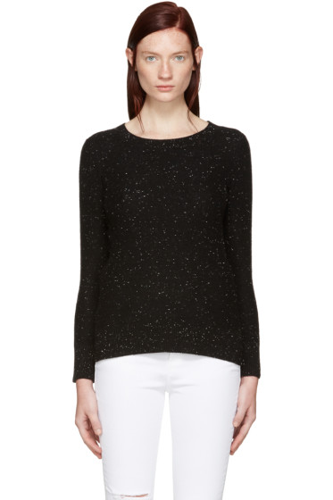 Rag & Bone - Black Cashmere Tamara Sweater