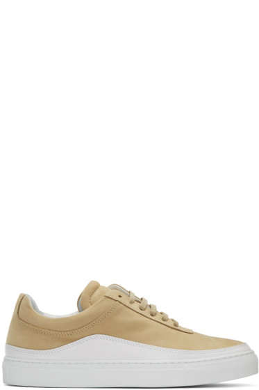 Public School - Beige Leather Braeburn Sneakers