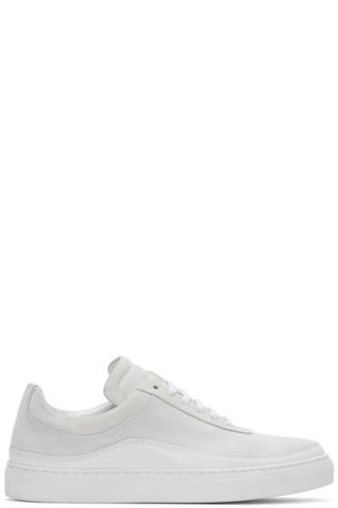 Public School - White Leather Braeburn Sneakers