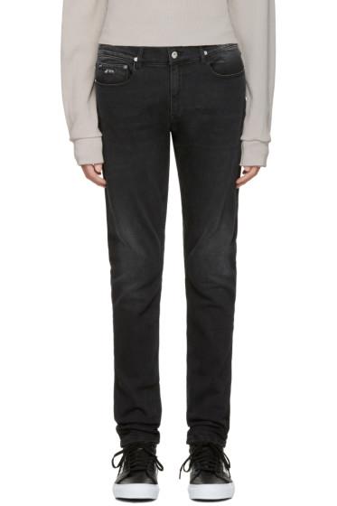 April77 - Black Joey Moon Flag Jeans