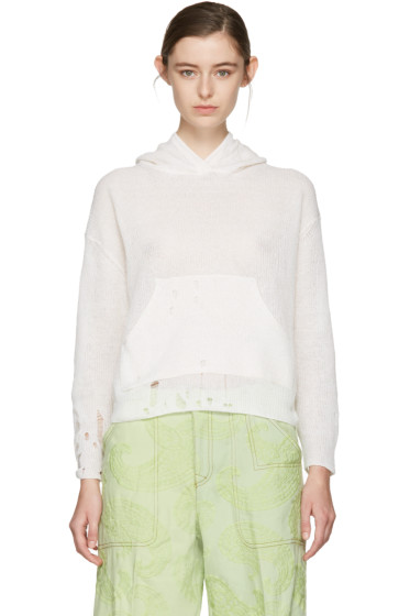 Acne Studios - Off-White Amelie Knit Pullover