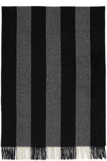 Acne Studios - Black & White Canada Bengal Scarf