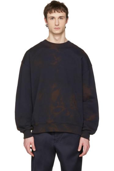 Acne Studios - Navy Yana Bleacher Sweatshirt