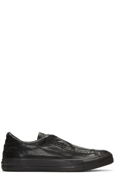 Converse by John Varvatos - Black CTAS Slip Brogue Sneakers