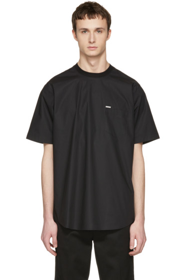 Dsquared2 - Black Poplin T-Shirt