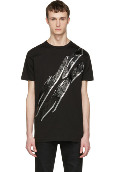 Dsquared2 - Black Lightning Bolt T-Shirt