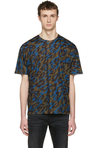 Dsquared2 - Tricolor Camouflage T-Shirt