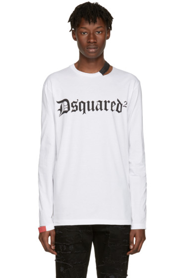Dsquared2 - White Cut-Out Logo T-Shirt