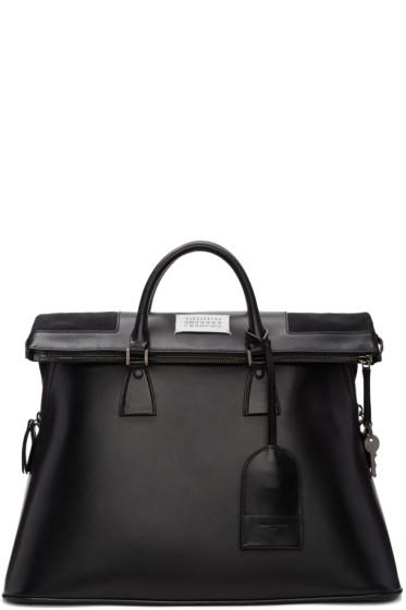 Maison Margiela - Black Leather 5AC Bag