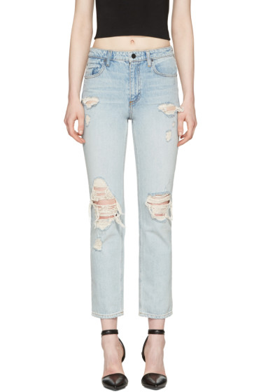 Alexander Wang - Blue Cult Straight-Leg Jeans