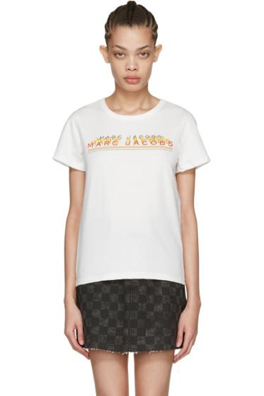 Marc Jacobs - Ivory Classic Logo T-Shirt