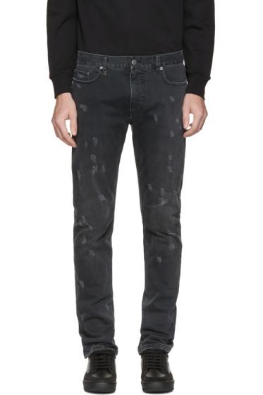Marc Jacobs - Black Distressed Jeans