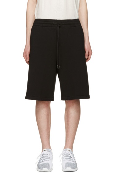 T by Alexander Wang - Black Lounge Shorts