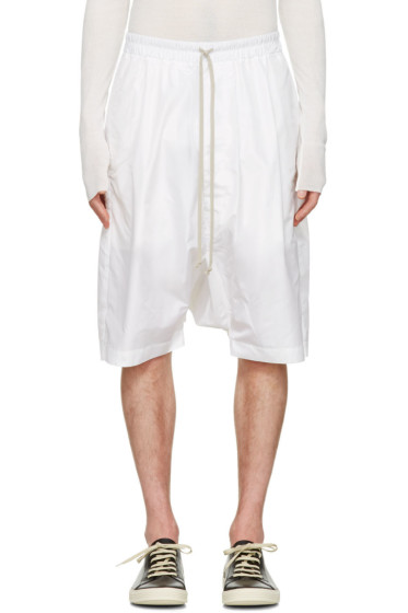 Rick Owens - White Pods Shorts
