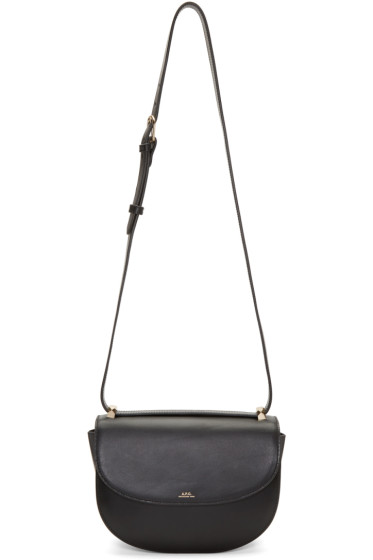 A.P.C. - Black Genève Bag