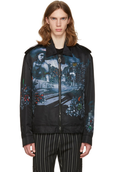 Lanvin - Black Lonely Town Jacket