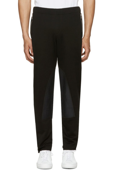 Alexander McQueen - Black Zip Lounge Pants