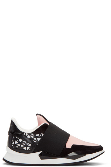 Givenchy - Pink Runner Slip-On Sneakers