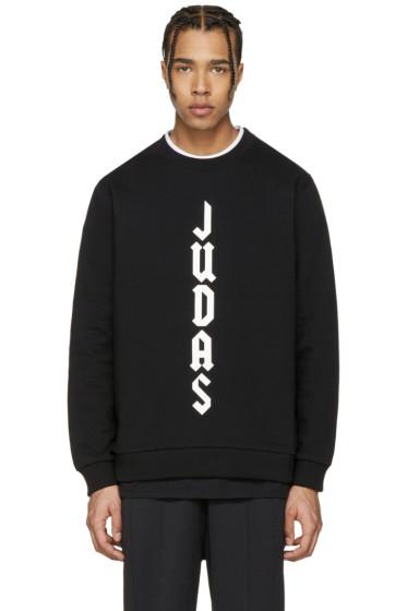 Givenchy - Black 'Judas' Sweatshirt