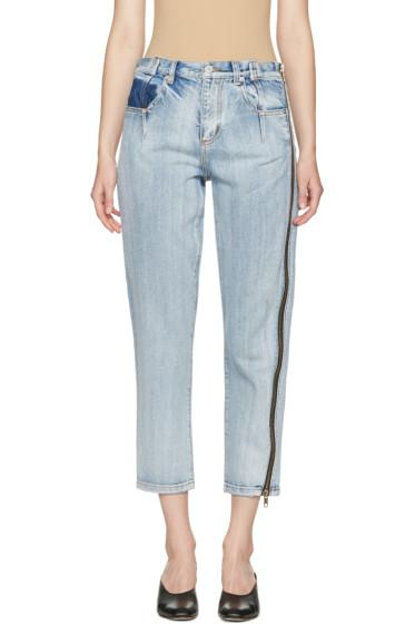 3.1 Phillip Lim - Indigo Zipper Jeans