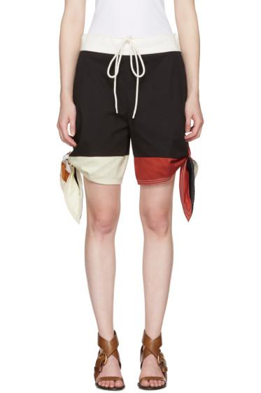 Chloé - Multicolor Bow Shorts