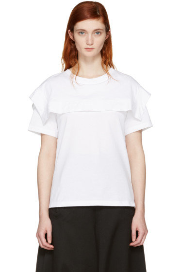 Chloé - White Sailor T-Shirt