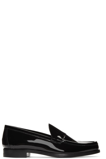 Pierre Hardy - Black Patent Leather Loafers