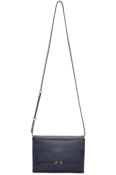 Marni - Navy Trunk Pouch Bag
