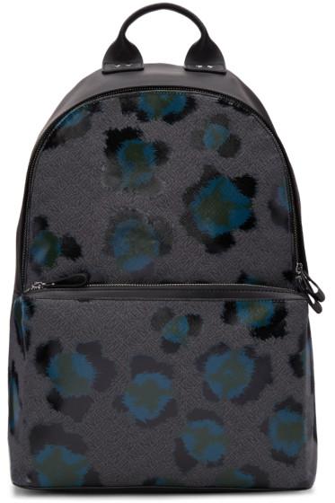 Kenzo - Black Leopard Backpack