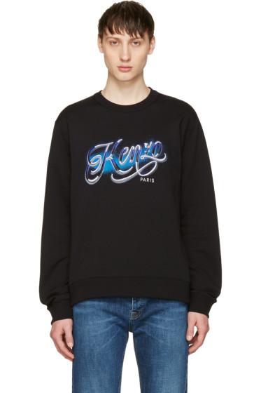 Kenzo - Black Lyrics Sweatshirt