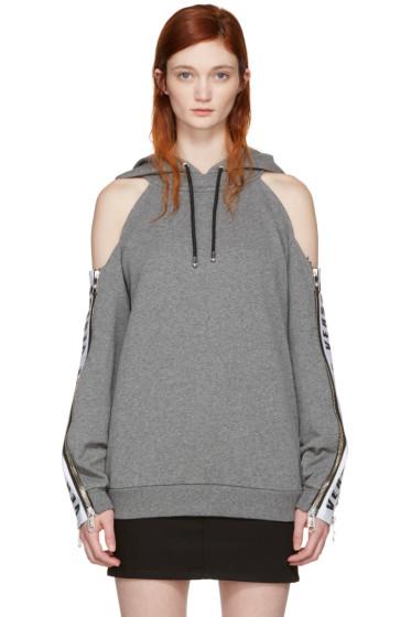 Versus - Grey Zip Sleeve Hoodie