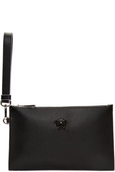 Versace - Black Small Medusa Zip Pouch