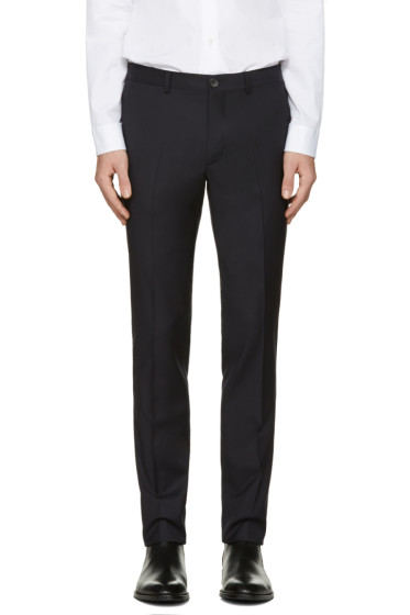 PS by Paul Smith - Navy Wool Trousers
