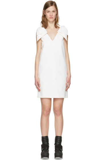 MSGM - White Bows Dress