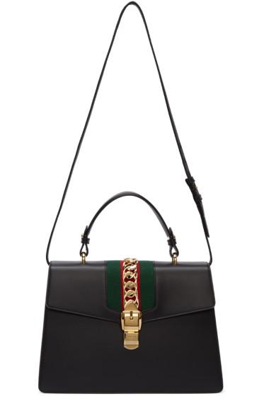 Gucci - Black Medium Sylvie Bag