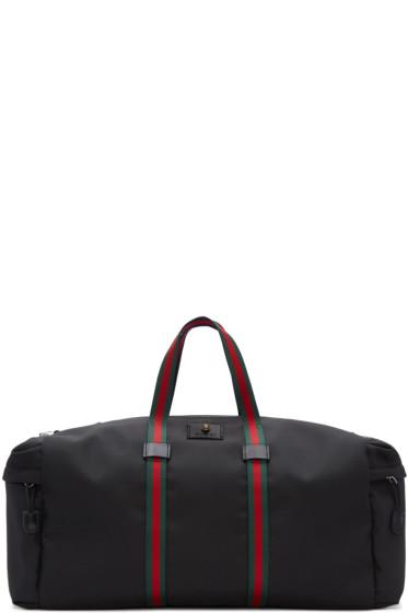 Gucci - Black Techpack Duffle Bag