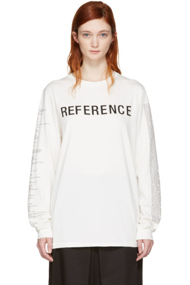 Yang Li - Off-White 'Reference' T-Shirt