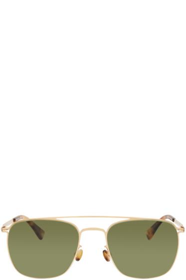 Mykita - Gold Torge Sunglasses