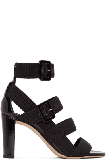Jimmy Choo - Black Maya Sandals