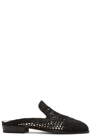 Robert Clergerie - Black Antes Slip-On Loafers