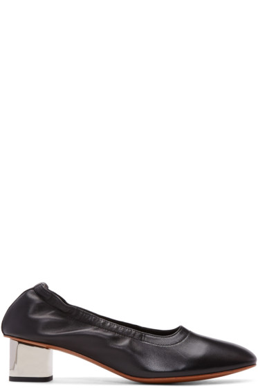 Robert Clergerie - Black Poket Heels