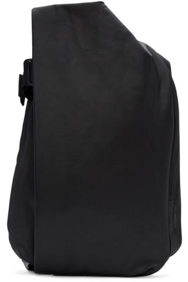 Côte & Ciel - Black Medium Isar Canvas Backpack