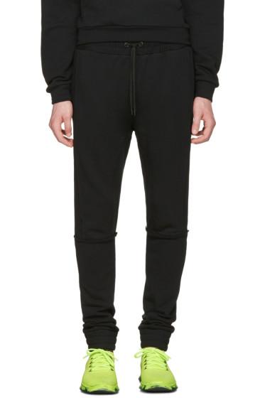 Pyer Moss - Black Tattered Lounge Pants