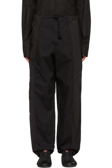 Yohji Yamamoto - Black Drawstring Trousers