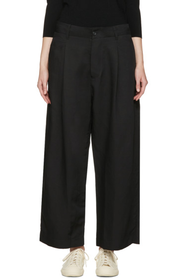 Studio Nicholson - Black Marcello Balloon Trousers