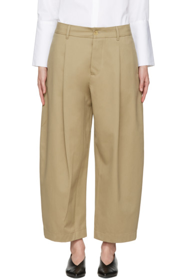 Studio Nicholson - Khaki Bonnard Balloon Trousers