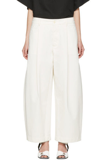 Studio Nicholson - Ivory Bonnard Balloon Trousers
