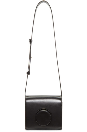 Lemaire - Black Leather Camera Bag