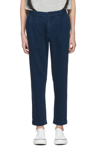Etudes - Navy Archives Trousers